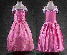 Mädchen Kleid Babykleid New Kinder Fest  Sommerkleid Blumenmädchen Festkleid