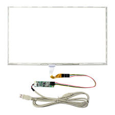 "15.6"" 5 Wire Resistive Touch Panel Dimension S 359mmx209mm USB Controller Card"