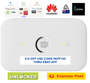 HUAWEI E5573 4G 4GX POCKET WIFI MODEM WIRELESS UNLOCKED AU STOCK Sealed Ebay +