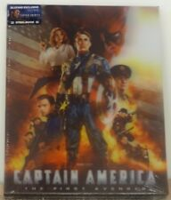 CAPTAIN AMERICA THE FIRST AVENGER Blu-ray [3D+2D] Steelbook BLUFANS LENTI