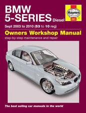 Reparaturhandbuch BMW E60 / E61 520d, 525d und 530d 03-10