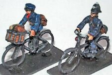 SGTS MESS NC16 1/72 Diecast WWII era British Policeman and Postman on Bicycles
