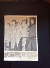 68-4 ephemera 1968 Picture St Columb Minor Nursing Cadets Susan Julian A Jago