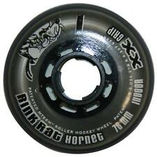 4 NEW Rink Rat Hornet Inline Hockey Wheels (SILVER) 72mm XX Grip
