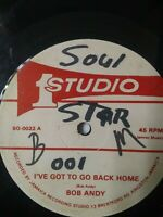"Bob Andy - I Got To Go Back Home 1977 12"" Vinyl Single"