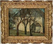 Listed Artist Walter Emerson Baum (1884-1956) Signed Oil Painting c. 1916
