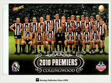 2010 Collingwood AFL Premiership Team Photo Shot Oversize Card (1)