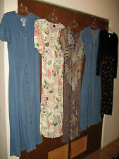 Lot Of 5 Women's Dresses Size M, L, 8, 9/10 Saint Topez West, Phool, Cameo & Co.