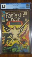 Fantastic Four #53  Aug 1966  CGC 8.5  Off White to White Pages