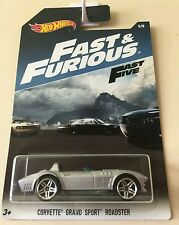 Hot Wheels CORVETTE GRAND SPORT ROADSTER Fast & Furious 5/8. A todo gas.Official