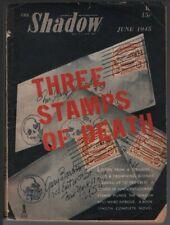 Shadow 1945 June.    Pulp