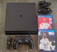 PlayStation 4 Konsole Slim 500GB + Controller + Fifa 18 + FIFA 20