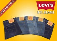 Levis 511 Mens Slim fit Stretch Jeans Original Zipper fly