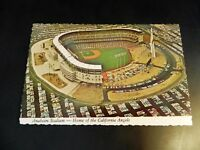 Anaheim Baseball Stadium California CA Angels Old Cars Orange County Postcard