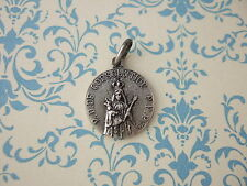 Vintage Catholic Medal OUR LADY of CONSOLATION Virgin Mary Jesus signed France