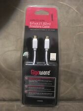 New old stock Gigaware 6FT 6' 4 Pin to 4 Pin FireWire Cable 1500006