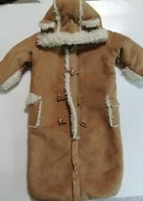 Baby GAP Infant 3-6 Month One Piece Bunting Winter Wear Faux Fur Lined Suit