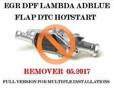 DPF EGR Lambda Adblue Flap DTC Hotstart remover 05.2017 + Video and ACTIVATOR !!