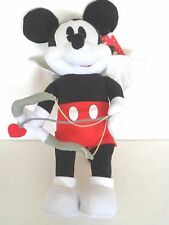 """DISNEY MICKEY MOUSE CUPID THEMED VALENTINE GREETER 24""""H NEW"""