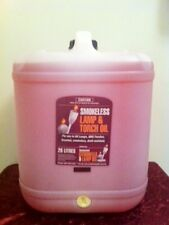 Lamp Oil 20 Litre Drum - Smokeless, coloured and/or Fragranced, for Oil Lamps