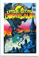 LITTLE GREEN DINOSAUR #1- Comix - 1st print