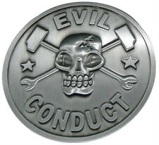 EVIL CONDUCT official Belt Buckle Oi! punk