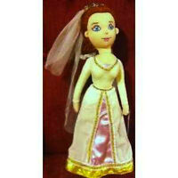 "Shrek Princess Fiona in Wedding Gown 12"" Plush Stuffed Soft Doll Toy New w Tags"