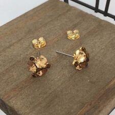 Crystal Titanium Post Stud Earrings US Seller Made in Korea