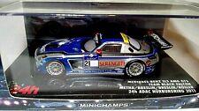 Minichamps 1:43(437110321)Mercedes SLS AMG GT3 Team Black Falcon Nurburgring '11