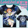 Anime Love Live Zodiac Cotton T-Shirt Cosplay Graphic Tee Shirts Tops Valentine