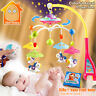 MiniTudou Baby Toys 0-12 Months Crib Mobile Musical Bed Bell With Animal Rattles