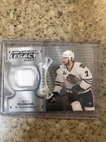 2019-20 UD Artifacts Brent Seabrook Relic Lord Stanleys Legacy