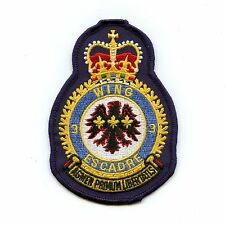 RCAF CAF Canadian 3 Wing Squadron Heraldic Colour Crest Patch