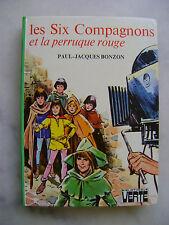 Paul-Jacques BONZON - Les six compagnons et la perruque rouge