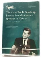 New Sealed The Art of Public Speaking DVD & Guidebook Greatest Speeches History