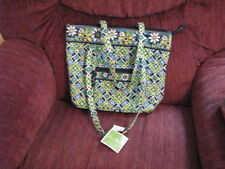 Vera Bradley Green/Yellow/Turquoise Purse NWT