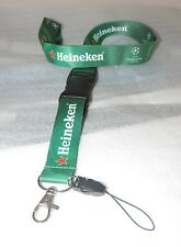Heineken for Champions League Laccetto Porta Badge Portachiavi Portatutto