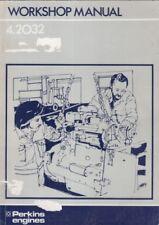 PERKINS 4.2032 DIESEL ENGINE ORIGINAL FACTORY WORKSHOP MANUAL