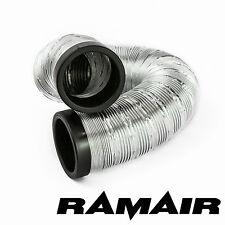 Ramair Alimentazione Aria Fredda Alluminio Flessibile canalizzazione - 2 23/64 in 3ft 3 3/8 in