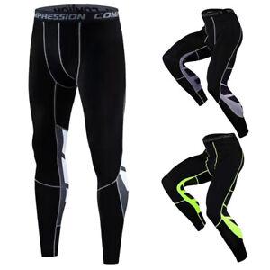 Laufhose Herren Kompressionshose Leggings Running Sporthose Funktionsunterwäsche