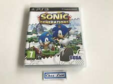 Sonic Generations - Sony PlayStation PS3 - PAL FR - Sans Notice