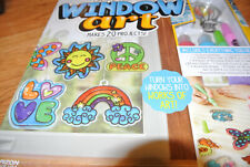 Made By Me Create Your Own Window Art 20 Projects Suction Peace Butterfly Nib Ne