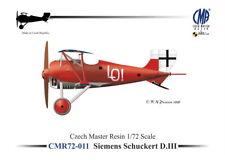 Czech Master Resin 1/72 Siemens-Schuckert D.III (No Decals) # 72-011