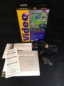 Creative Video Blaster Webcam II Parallel Port - Complete In Box - No Software