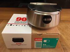 Alessi 55 90 Round Sugar Bowl Special 90 Years of Alessi Edition Carlo Mazzeri