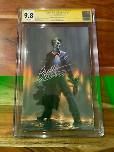 Joker: Year Of The Villain #1 CGC 9.8 Virgin Bulletproof Exclusive By Dell'Otto