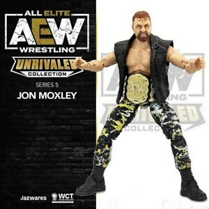 AEW Unrivaled series 5 - Jon Moxley  - NEW - IN STOCK NOW