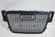 GENUINE AUDI RS5 A5 2010-2015 FRONT CENTRE MESH GRILLE IN BLACK p/n 8T0853692