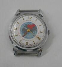 Vintage Soviet SPUTNIK Kirovskie watch. 1MChz 17 jewels movement. Soviet space.