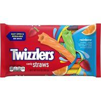 TWIZZLERS RAINBOW TWISTS LICORICE CHEWY CANDY 12oz - PACK OF 3